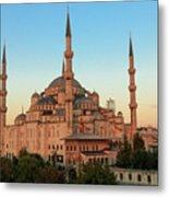 Blue Mosque Blue Hour Metal Print