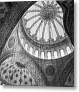 Blue Mosque Metal Print