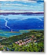 Blue Mountain Blues Metal Print
