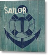 Blue Nautical-jp3614 Metal Print