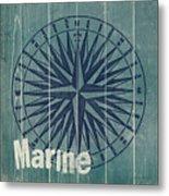 Blue Nautical-jp3616 Metal Print