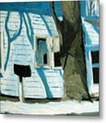 Blue On Blue Metal Print by Charlie Spear