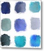 Blue Palette, No.1 Metal Print
