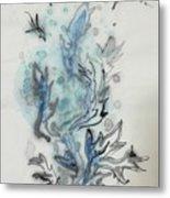 Blue Plant Of Dream Metal Print