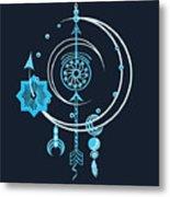 Blue Point Metal Print