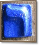 Blue Resh Metal Print