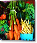 Blue Ribbon Harvest Metal Print