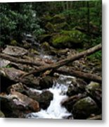 Blue Ridge Brook Metal Print