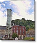 Blue Ridge Dam 4 Metal Print