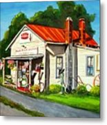 Blue Ridge Grocery Metal Print