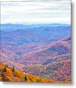 Blue Ridge Mountains 3 Metal Print