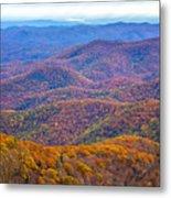 Blue Ridge Mountains 4 Metal Print