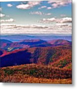 Blue Ridge Of Virginia Metal Print