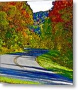 Blue Ridge Parkway Interpretation Metal Print