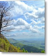 Blue Ridge Parkway Views - Rock Castle Gorge Metal Print