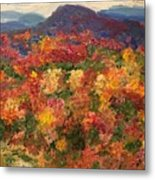Blue Ridge Pastoral Metal Print