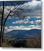 Blue Ridge Thornton Gap Metal Print
