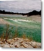Blue River One Metal Print