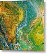 Blue River Thru Metal Print