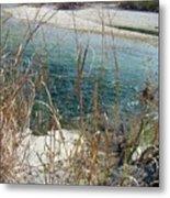 Blue River Two Metal Print
