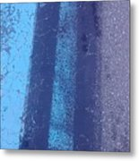Blue Road Metal Print