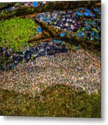 Blue Rock Metal Print