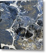 Blue Rock One Metal Print