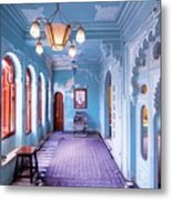 Blue Room Metal Print