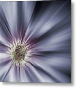 Blue Satin Metal Print