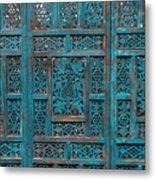 Blue Screens Metal Print