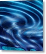 Blue Sea Of Dreams Metal Print