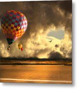 Blue Skies Ahead Metal Print by Artist and Photographer Laura Wrede