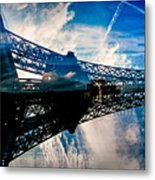 Blue Sky In Paris  Metal Print