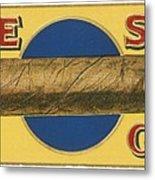 Blue Spot Cigars Metal Print