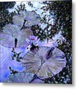 Blue Stillness Metal Print