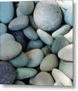 Blue Stones From Bali Metal Print