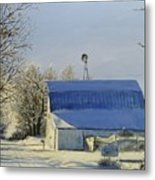 Blue Sunday Metal Print