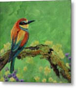 Blue Tailed Bee Eater Metal Print