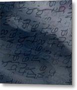 Blue Talk Metal Print