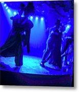 Blue Tango Metal Print