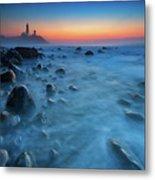 Blue Tide Metal Print
