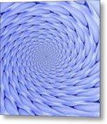 Blue Tip Whirlpool Metal Print