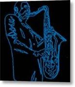 Blue Trane Metal Print