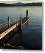 Blue Tranquility Metal Print