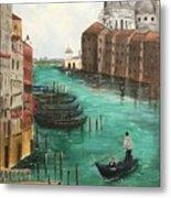 Blue Venice Metal Print