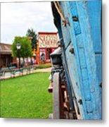 Blue Wagon 1 Metal Print