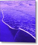 Blue Wash Metal Print