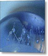 Blue Wave 1 Metal Print