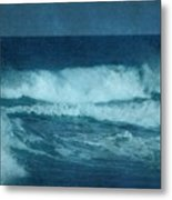 Blue Waves - Jersey Shore Metal Print by Angie Tirado