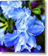Blue Wonder Metal Print